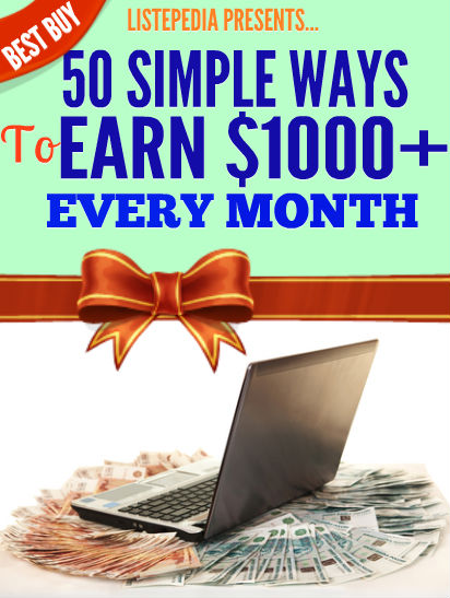 5o simple ways to earn $1000+ every month